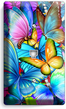 Colorful Butterflies Phone Telephone Wall Plate Cover Baby Room Nursery Ny Decor - $13.99