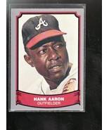 HANK AARON 1988 PACIFIC LEGENDS BASEBALL CARD#1 NM/MT NICE BRAVES STAR - $3.02
