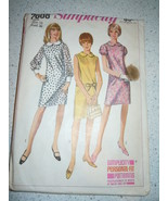 Vintage 1967 Simplicity Jr. Miss Size 16 Dress #7008   - $5.99