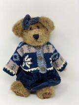 """Boyds Bears NADIA BERRIMAN 10"""" Brown Bear in Knit Sweater & Jumper 917420 10""""  - $14.36"""