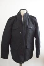 VINCE CAMUTO | Austin Wool Blend Military Coat men's jacket sz L $248+ gray - $128.69