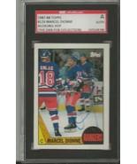 Marcel Dionne 1987 Topps Autograph #129 SGC Rangers - $39.15
