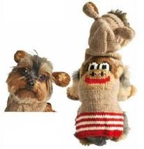 Monkey Hoodie Dog Sweater Chilly Dog Hand Knit Wool  XXS-XXXL Pet Puppy ... - $32.66+