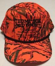 Vtg Thompson Brothers Welding Hat Kansas Bartlesville Oklahoma Cap Hunte... - $17.43