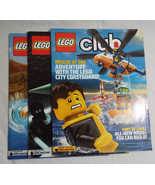 Lego Club Magazine  3 Issues March/April- May/June- Sept/Oct 2013 - $17.67
