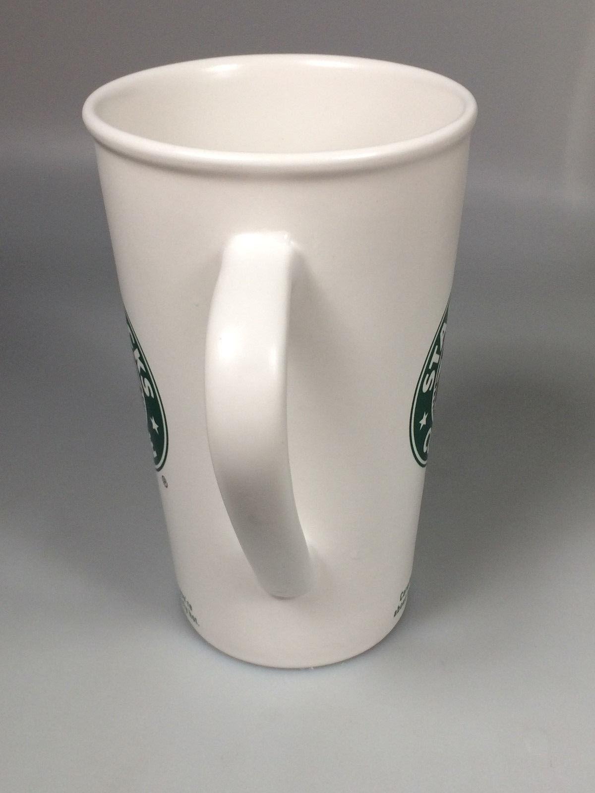Starbucks mermaid coffee mug cup 16 oz.