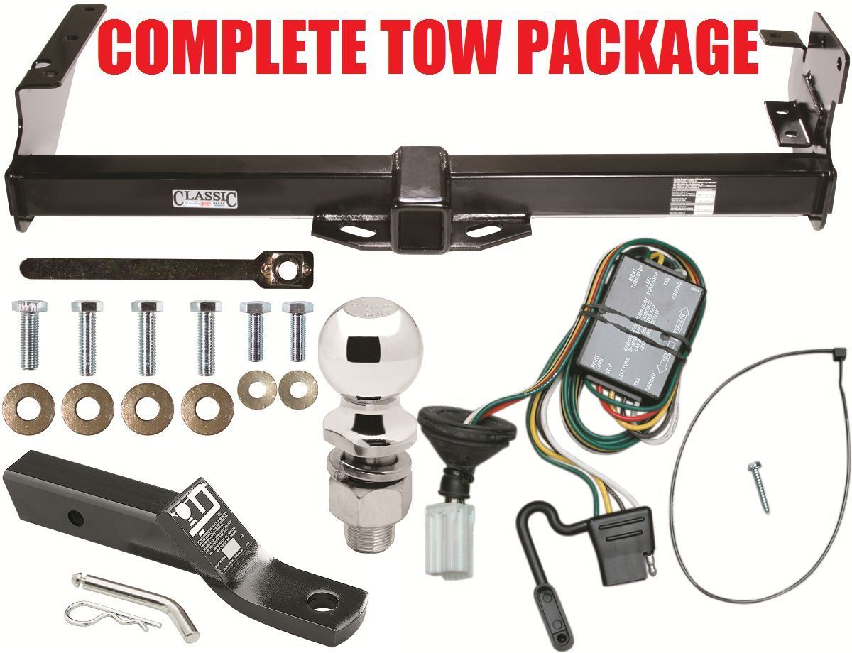 96-99 ACURA SLX / 92-02 ISUZU TROOPER COMPLETE TRAILER HITCH TOW PACKAGE ~  2INCH - $196.02