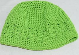 Unbranded Infant Toddler Lime Green Hat Stretch Removable Bow Multicolor image 6