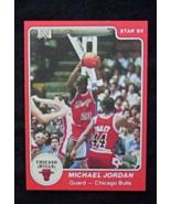 1984/85 Star Basketball #101 Michael Jordan [Chicago Bulls] Rookie {} Re... - $4.00