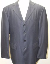 Giorgio Armani GA Men Blazer 4 Buttons Made In Italy 44R Lined Wool Blend - $65.09