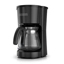BLACK+DECKER 5-Cup Coffeemaker, Black, CM0700BZ - $20.96