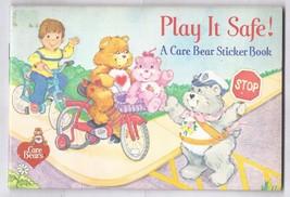 1984 CARE BEARS Sticker Book Play it safe! - $9.50
