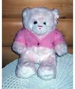 Build-A-Bear CLEARANCE SALE Plush White & Pink Cotton Candy Sparkle Swea... - $5.99