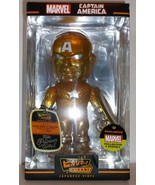 Funko Hikari Marvel Collector Corps Year 1 Exclusive Gold Captain Americ... - $74.95