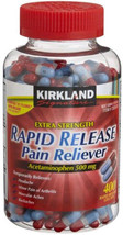 Acetaminophen Rapid Release Extra Strength 500 mg 400 Gelcaps Kirkland - $17.99