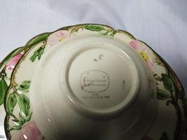 Vintage Franciscan China Desert Rose 4 piece plate set 3 size plates and 1 bowl image 3