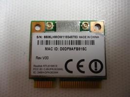 Toshiba Satelite C655 C655D L855 L645 L645D L745 WiFi Wireless CARD RTL8... - $5.79