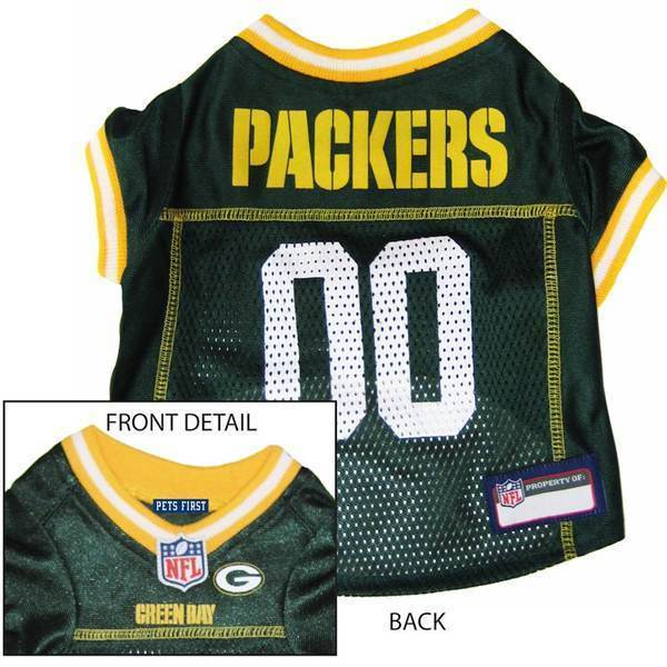 green packers jersey