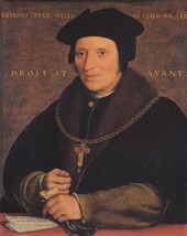 Portrait of Sir Brian Tuke. c.1533-35 - 24x32 inch Canvas Wall Art Home Decor - $51.99