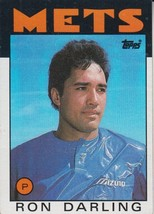 Ron Darling 1986 Topps Card #203 - $0.99