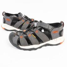 Keen Boys Waterproof Sandals Gray/Orange/White Size 13 - $22.51