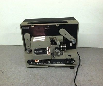 Bell & Howell 1744 Filmosonic Super 8mm Movie Projector