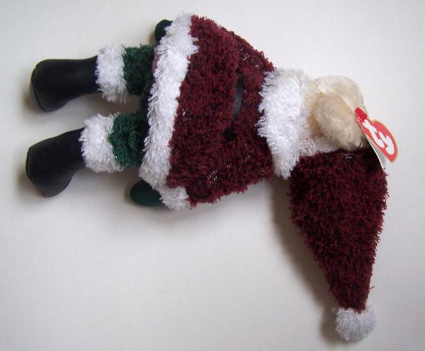 Ty Attic Treasures Collection Santabear Collectible Retired