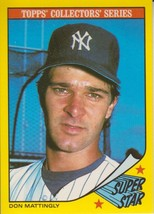 Don Mattingly 1986 Topps Collectors Series Card #20 - $0.99