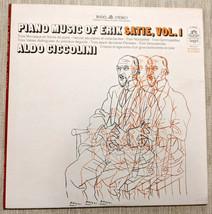 Piano Music of Erik Satie Vol 1 Aldo Ciccolini LP Angel Record S 36482 P... - $14.84