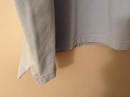 LizGolf Women's Size XL Polo Shirt Short Sleeves Cotton Blend Powder Baby Blue image 5