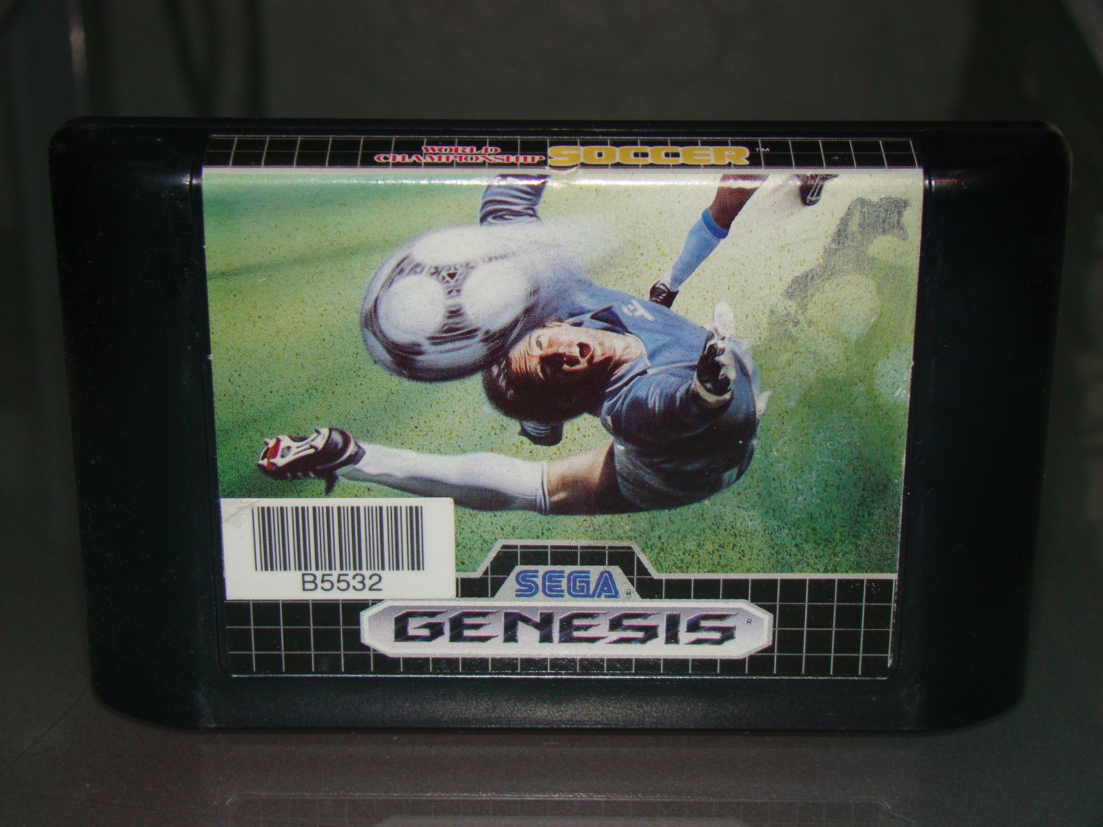 Primary image for SEGA GENESIS - WORLD CHAMPIONSHIP SOCCER (Game Only)