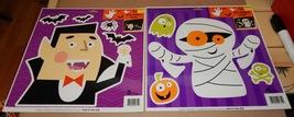 "Halloween Car Window Clings 13"" x 13"" 2ea 9 Tot... - $4.49"