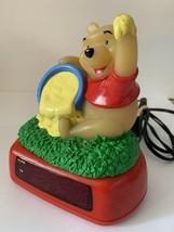Disney Winnie The Pooh w/Hunny Pot Alarm Clock/Night Light Vintage - See Video - $14.99