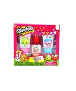 Shopkins Bath Gift Set Cupcake Strawberry Apple... - $24.96
