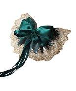 Retro Lace Large Bowknot French Barrettes Handmade Chiffon Lolita Hair C... - $12.28