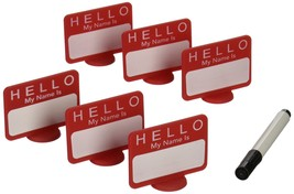 DCI Name Tags Reusable Place Cards, Set of 6 - $5.06
