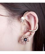 18K RGP Cute Opal Spider Cobweb Ear Cuff for Women - $15.99