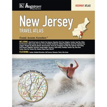 New Jersey State American Map Travel Atlas - $26.73
