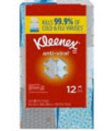 Kleenex Anti Viral 12 Pack 12 X 60 Tissues 720 Total Tissues - $29.99