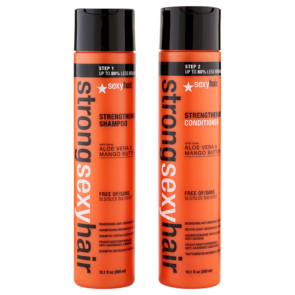 Sexy Hair Strong Sexy Hair Color Safe Strengthening Shampoo & Conditioner 10.1 o - $34.53