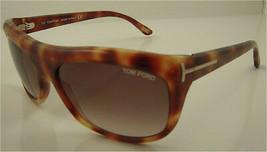 Tom Ford Alex Light Havana / Gradient Brown Sunglasses TF17 Q37 - $156.31