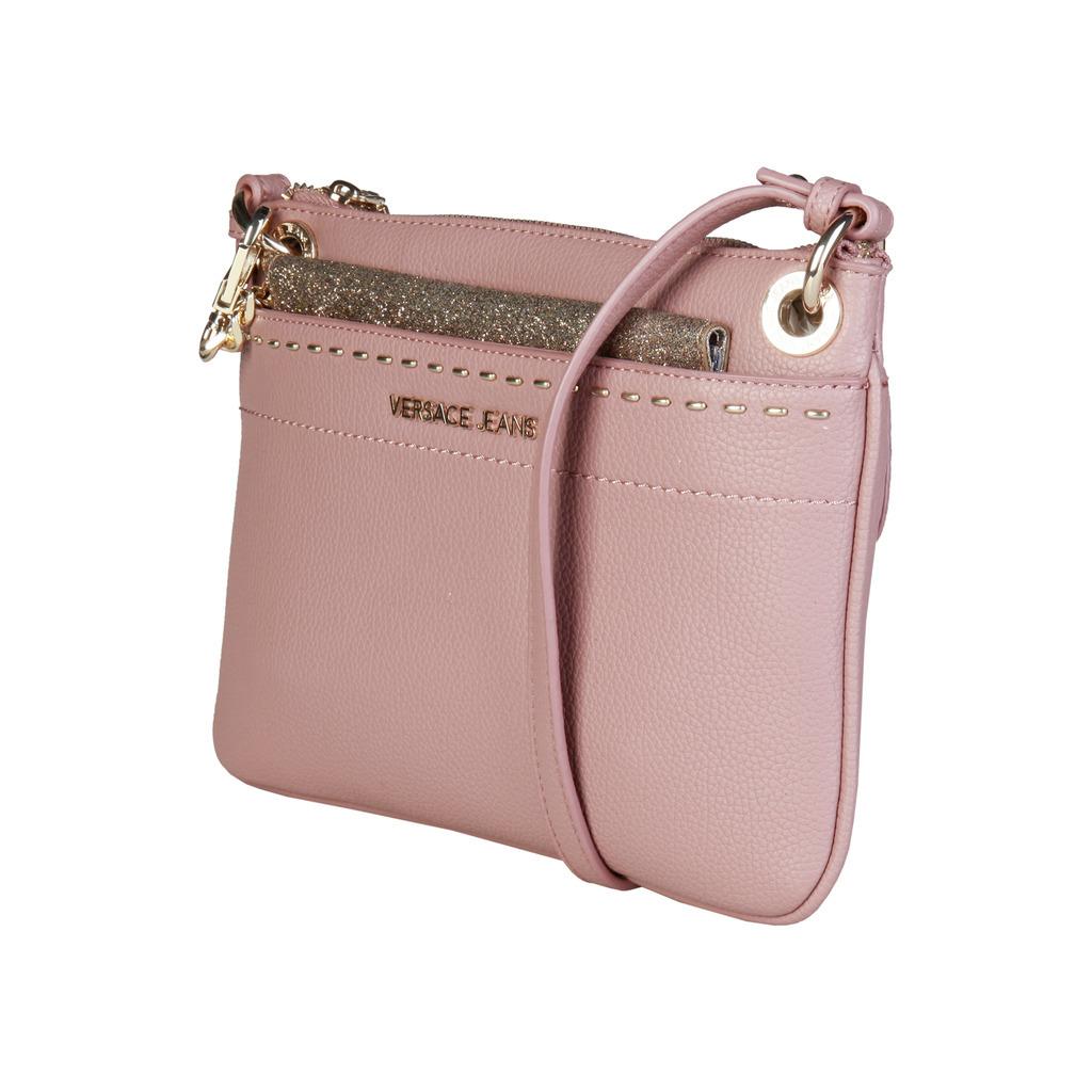Versace Jeans - Clutch Handbag , Synthetic Leather, zip Pocket, Inside Pocket,