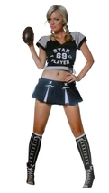 Leg Avenue Size XS (0-2) Womens Football Player Costume (4 Piece Set)  - $39.99