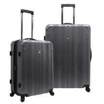 "Traveler Choice Gray Luxembourg 2pc 25"" 29"" Hardside Spinner Keylock Lug... - $113.99"