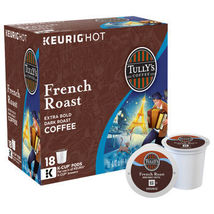 Tully's French Roast Coffee Keurig Kuerig 180 K-Cups Pods CHEAP - $109.98