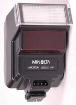 Minolta Maxxum 2800 AF Flash-w Case-Shoe Mount-Vtg-Camera Acc-Made in Japan - $23.36