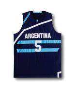 Manu Ginobili #5 Team Argentina New Men Basketball Jersey Navy Blue Any ... - $34.99