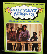 Different Strokes Coloring Book 1983 - $15.99