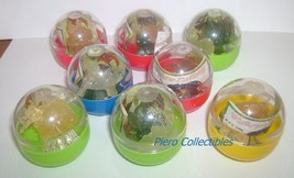 Gamera Series 16 Set 8 Gashapon Capsule Bandai Godzilla - $7.00