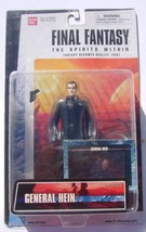 Final Fantasy Spirits Within Action Figure General Hein Bandai - $14.00